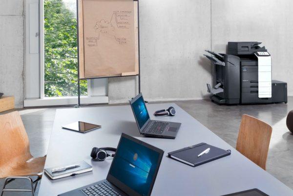 Konica Minolta printer kantoortuin