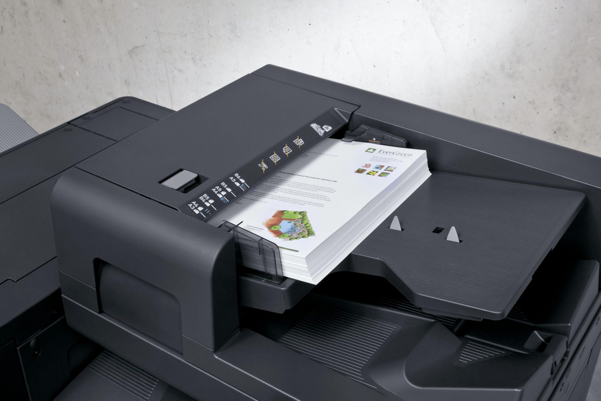 Anderhalve meter gaat mis bij de printer
